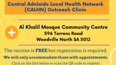 Covid-19 Vaccination Drive @ Al Khalil Mosque 21 September