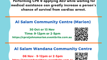 CPR and First Aid Training by St John's Ambulance